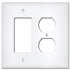 Larger Plastic Switch Plates