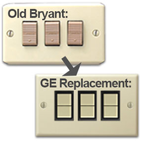 GE is direct replacement for Bryant