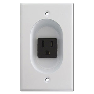 Recessed Wall Outlets