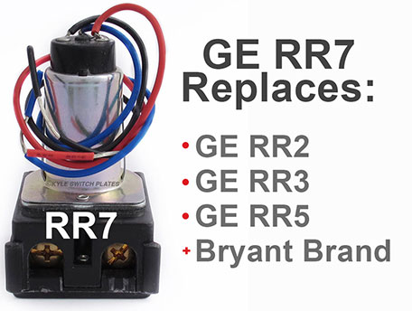GE Replacement Relay Part Numbers