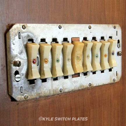Remcon 9-Switch Wall Plate Cover Replacement Option