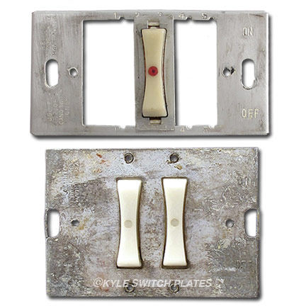 Discontinued Remcon Light Switch Plate Brackets & Yokes