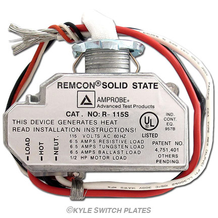 Remcon Relays & Replacement Parts at Kyle Switch Plates