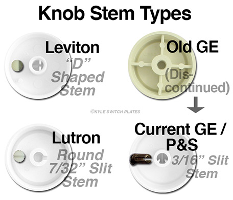Dimmer Switch Stem Type Guide