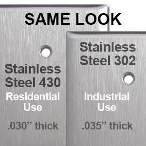Industrial vs Residential Stainless Steel