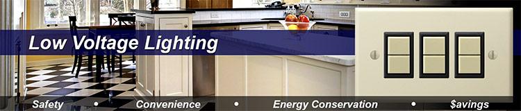 Low Voltage Lighting System Advantages