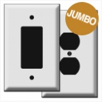 Oversize Wall Plates in 100 Jumbo Sizes