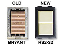 Bryant low voltage light switches