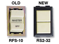 RS2-32 Replaces GE Low Voltage RFS-10 Switch