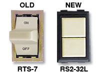 RS2-32L replacement for GE RTS-7 low voltage switch