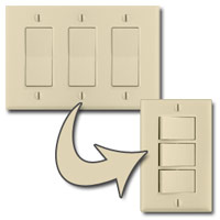 Triple Switch Plate Solutions