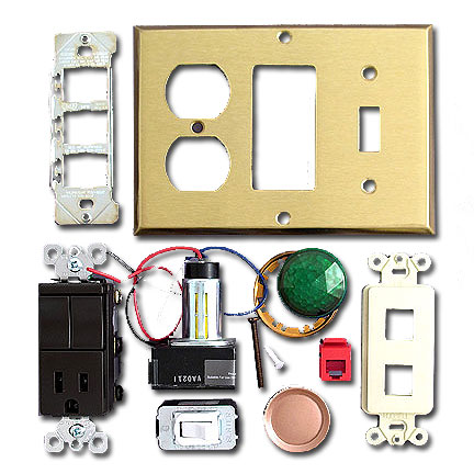 Wall Switch Plate and Electrical Device Glossary