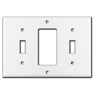 Toggle Rocker Toggle Light Switch Cover White Kyle Switch Plates