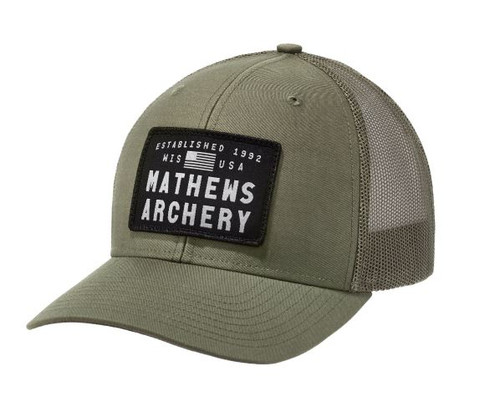 Mathews Military Green Advocate Cap