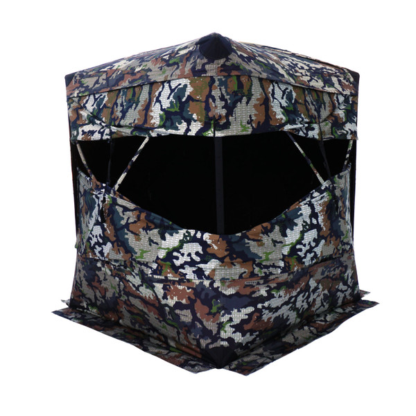 Xenek ASCENT DSX Camo Ground Blind (w/ Backpack)