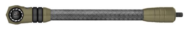 Mathews Flatline Stabilizer 10 Inch Ambush Green