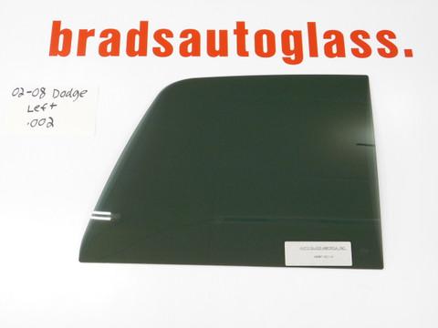 02-08 Dodge Ram sliding rear window Left side glass only PATCH PANEL