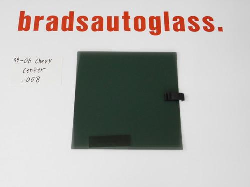 99-06 Chevy Silverado/GMC Sierra CENTER sliding Rear Window back Glass slider