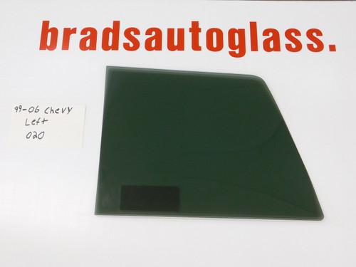 99-06 Chevy Silverado/GMC Sierra LEFT SIDE sliding Rear Window back Glass slider