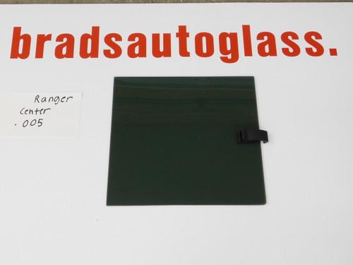 1986-2011 Ford Ranger CENTER glass only sliding rear window back glass slider