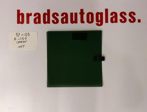 97-03 Ford F-150 sliding Center Rear Window Back Glass