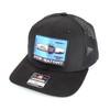Snapback Trucker Hat w/Color Patch - Pew-Natomy - Black Hat