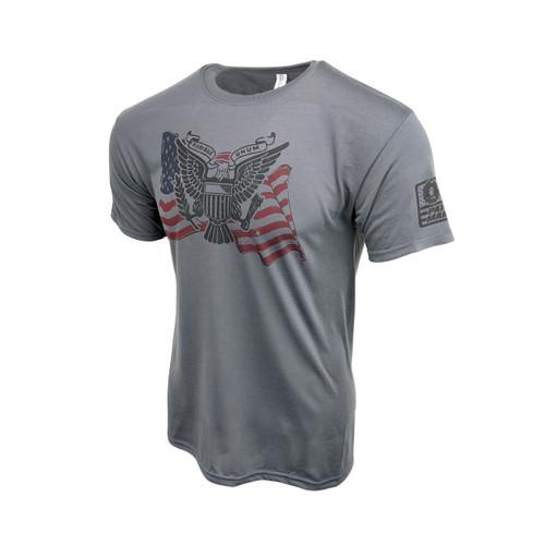 Sublimated Short Sleeve Shirt - E Pluribus Unum - Graphite Grey