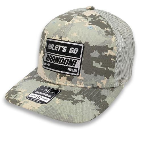 LGB - Let's Go Brandon! - 86-46 - #FJB - Military Digital Camo Trucker Hat