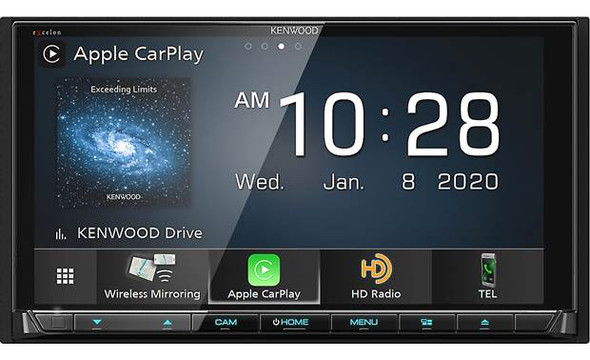 High resolution screen, DVD player, Multi-tilt feature, Sound quality control, super responsive, Apple CarPlay, Android Auto, AM/FM, Satellite radio ready, Best Car Stereo