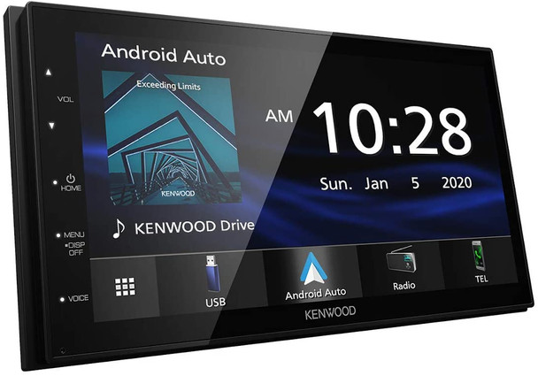 Flat, smooth glass face, Easy to use, Touch screen, CarPlay, Android Auto, AM/FM, USB, Bluetooth