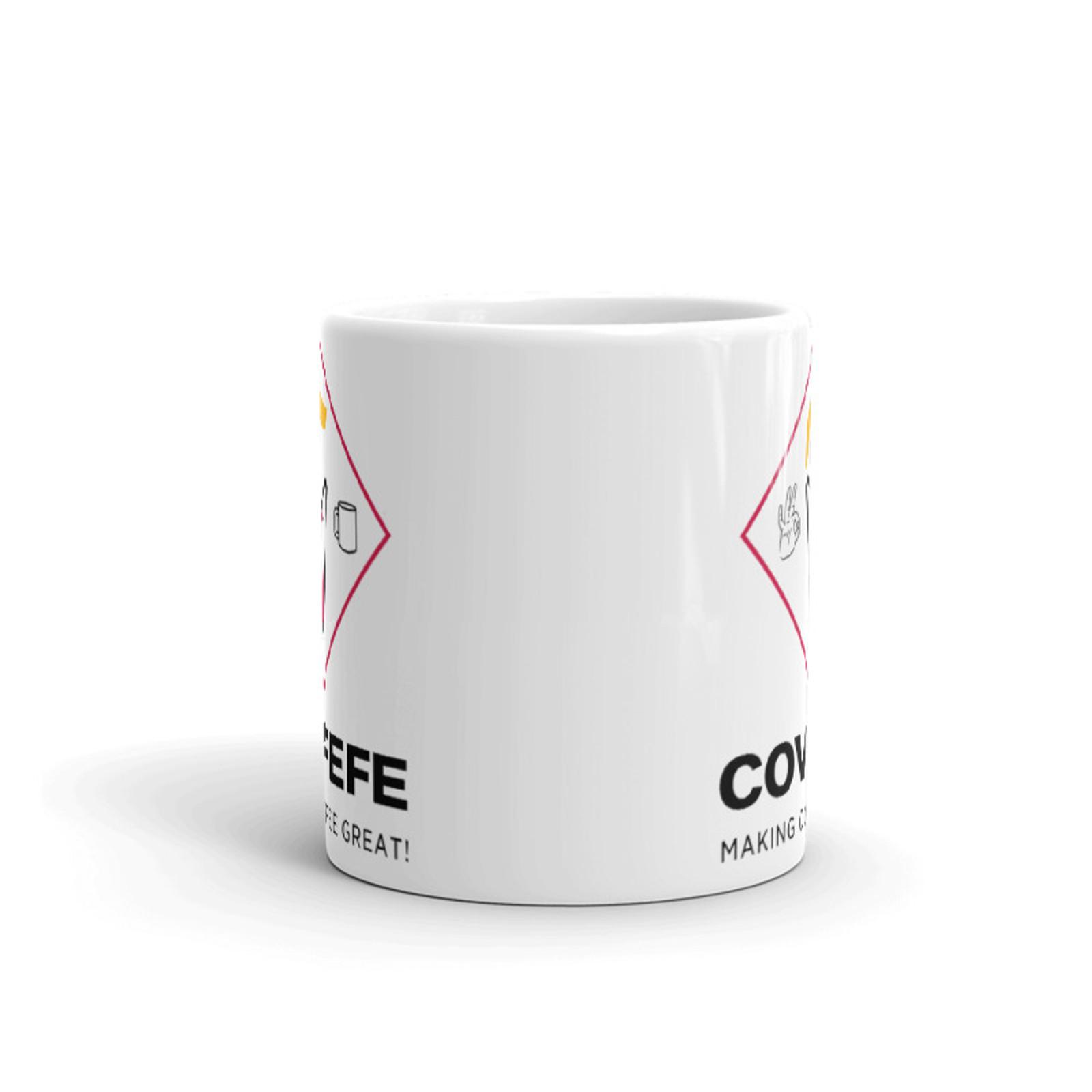 COVFEFE Mug [Colorized Logo]