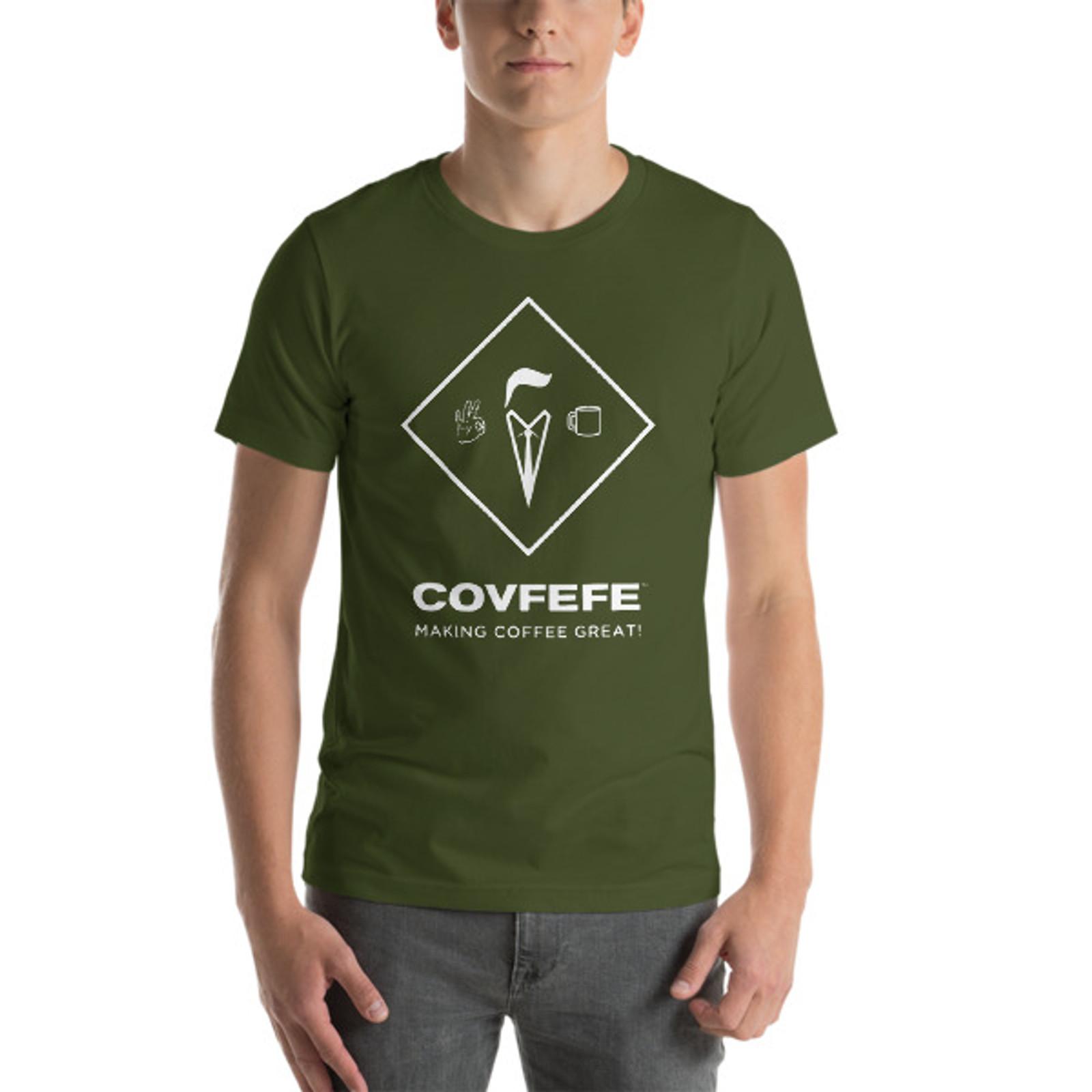Men's Short Sleeve T-Shirt [White Logo]