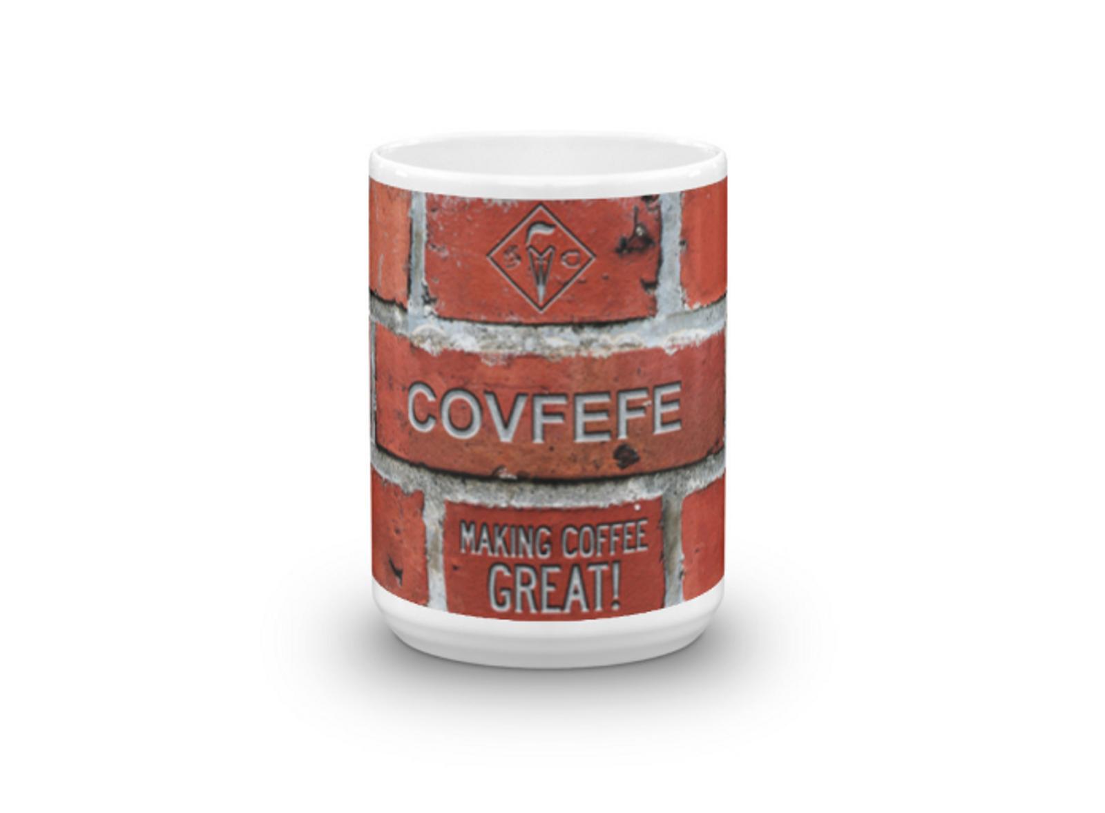 COVFEFE Wall Mug