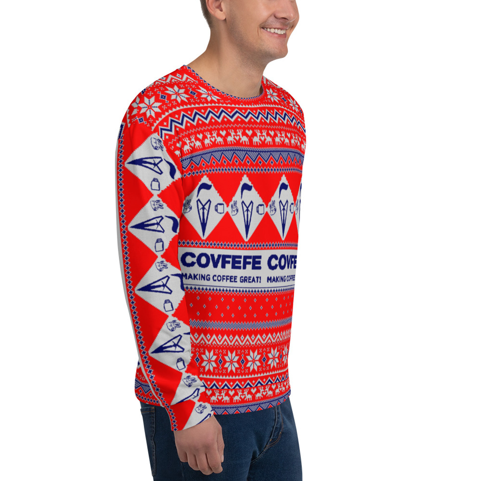 COVFEFE Christmas Sweatshirt
