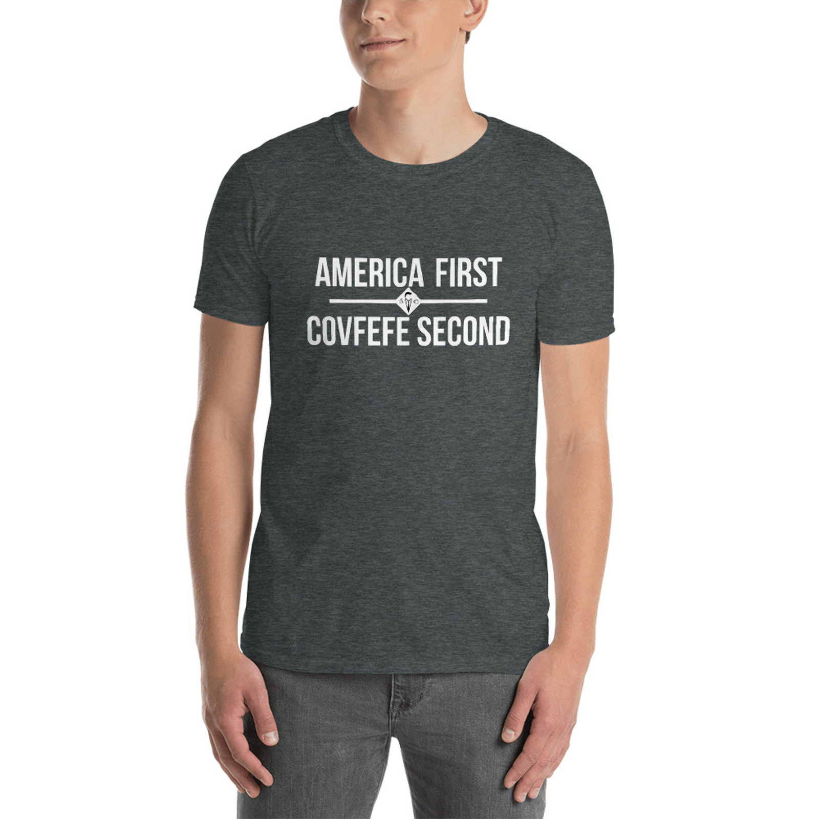 America First COVFEFE Second - Dark