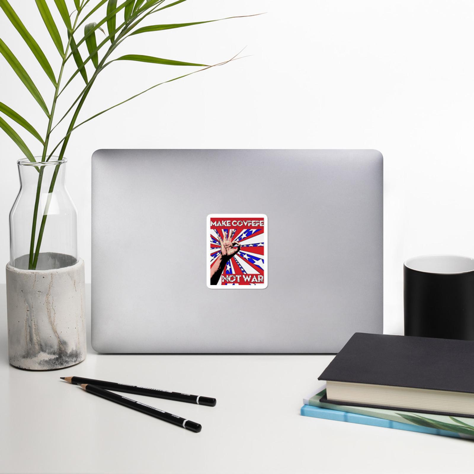 MAKE COVFEFE Stickers