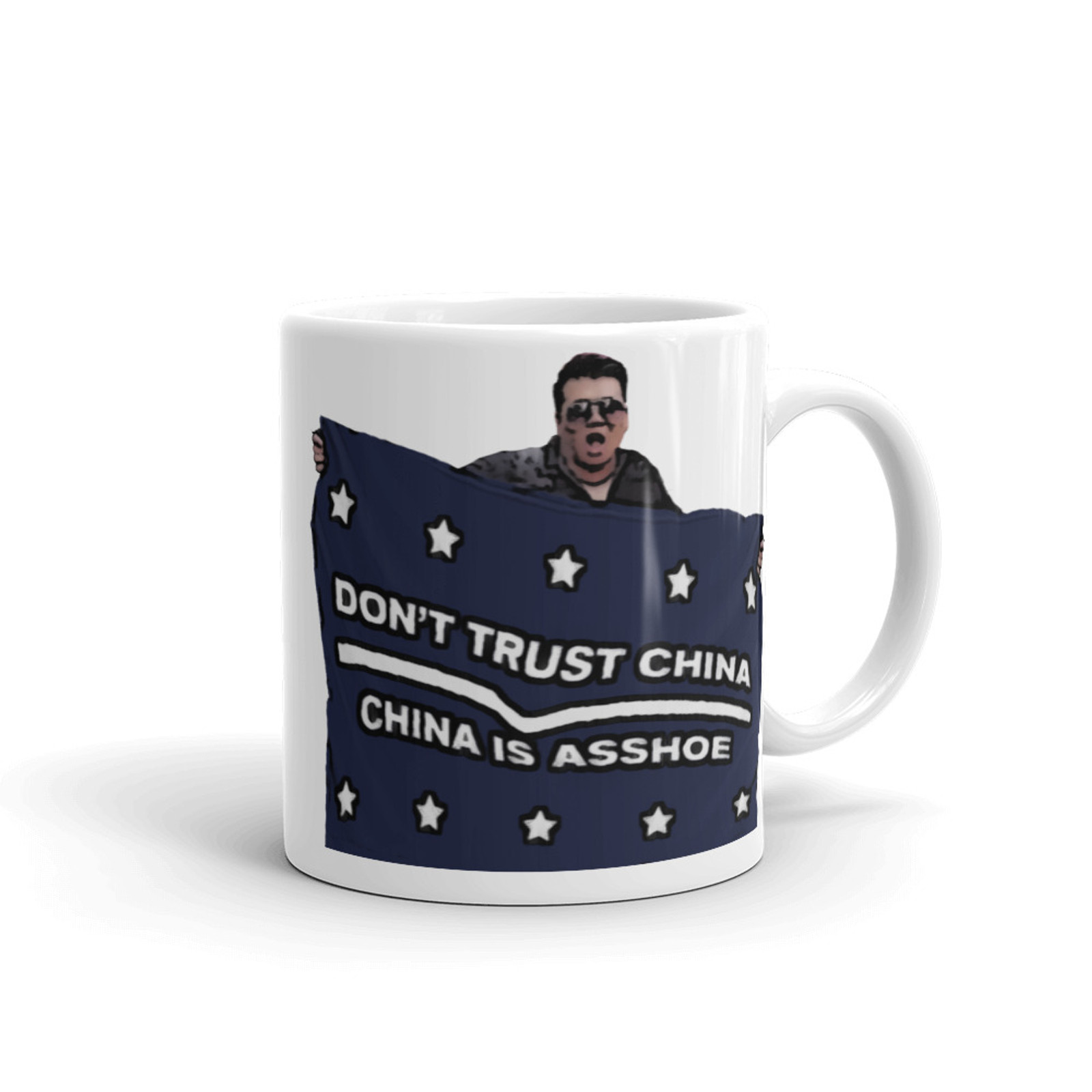 Don't Trust China Mug