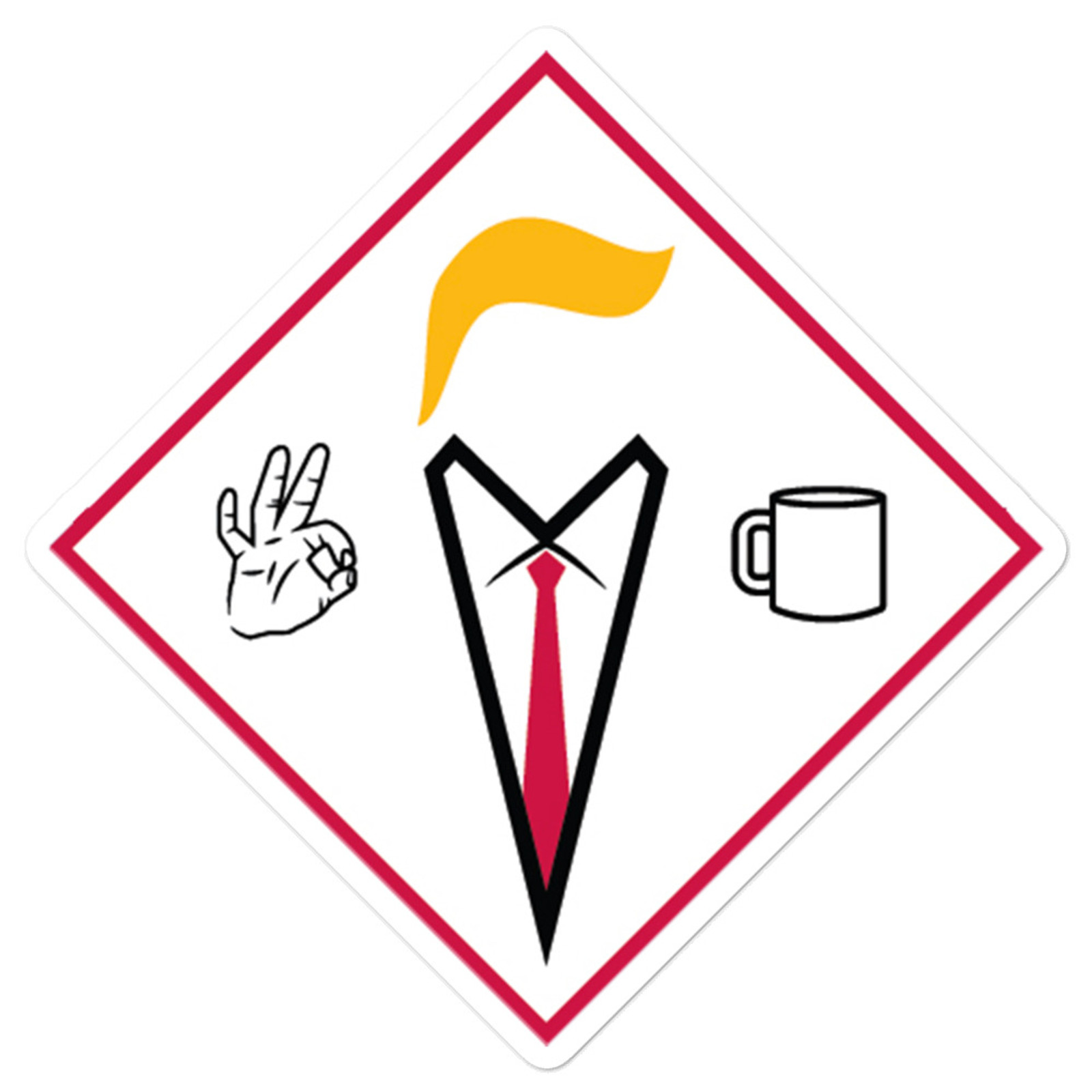 COVFEFE Sticker