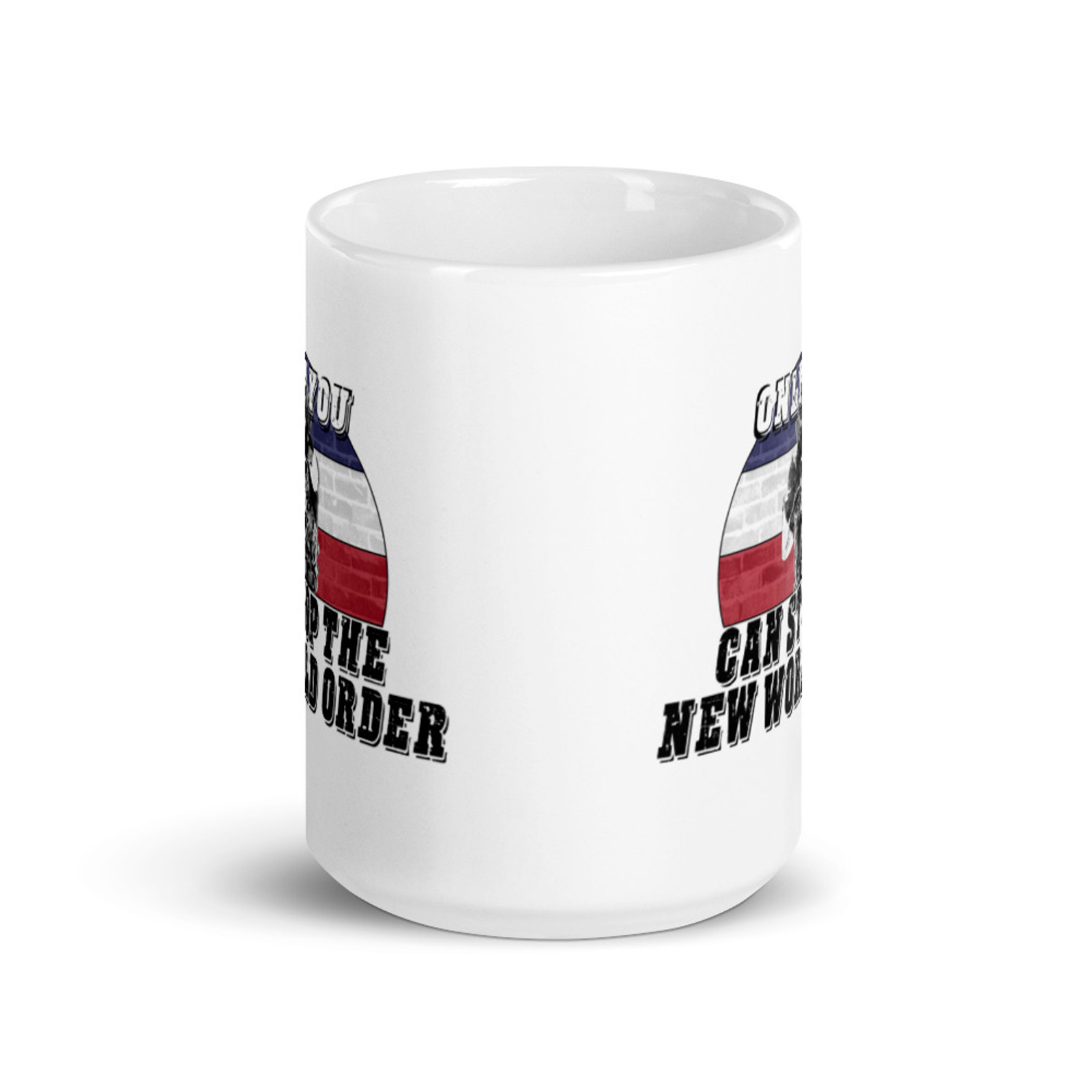 Only You Can Stop The NWO Mug
