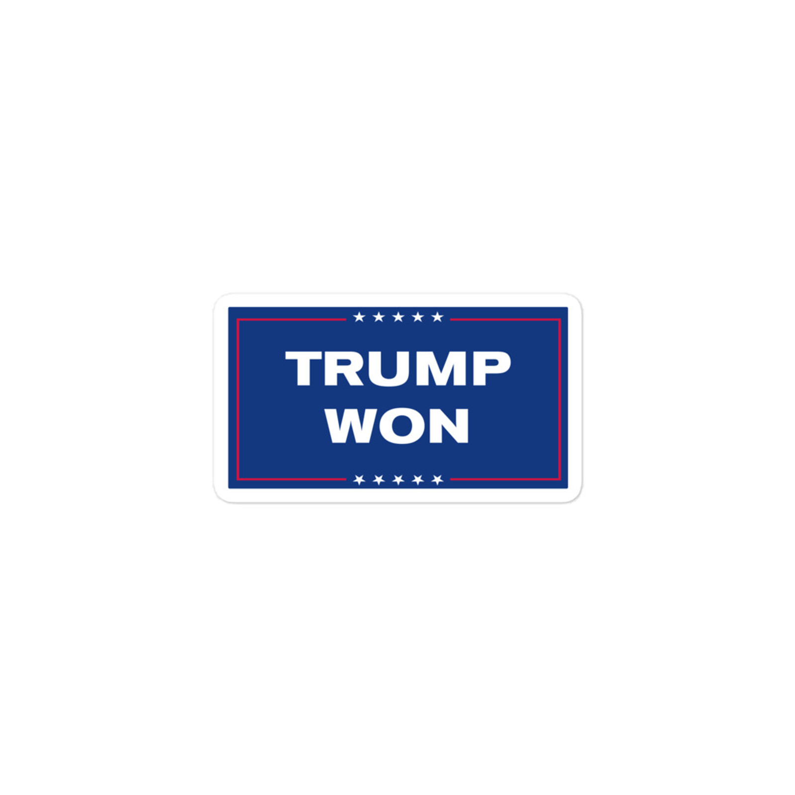 TRUMP WON Sticker