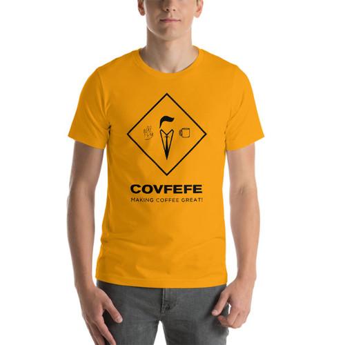 Men's Short Sleeve T-Shirt [Black Logo]