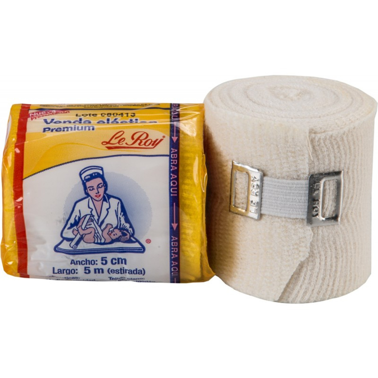 Leroy Mexican Hand Wraps Gauze Pack of 8