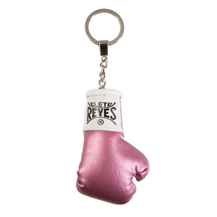 Cleto Reyes Boxing Glove Keyring Pink Color