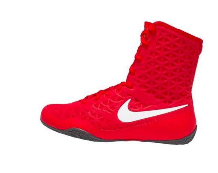 Nike KO Boxing Shoes - University Red/White