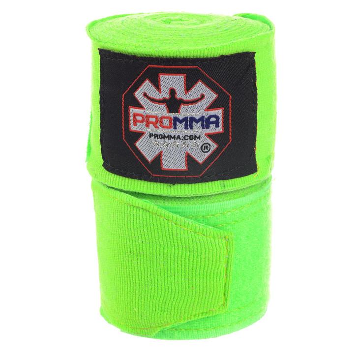 PRO MMA SEMI-STRETCH Hand Wraps Volt Color
