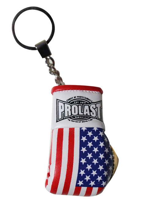 PROLAST® USA Flag Boxing Glove Key Ring