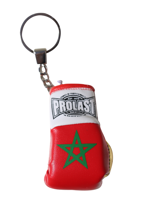PROLAST® Morocco Flag Boxing Glove Key Ring