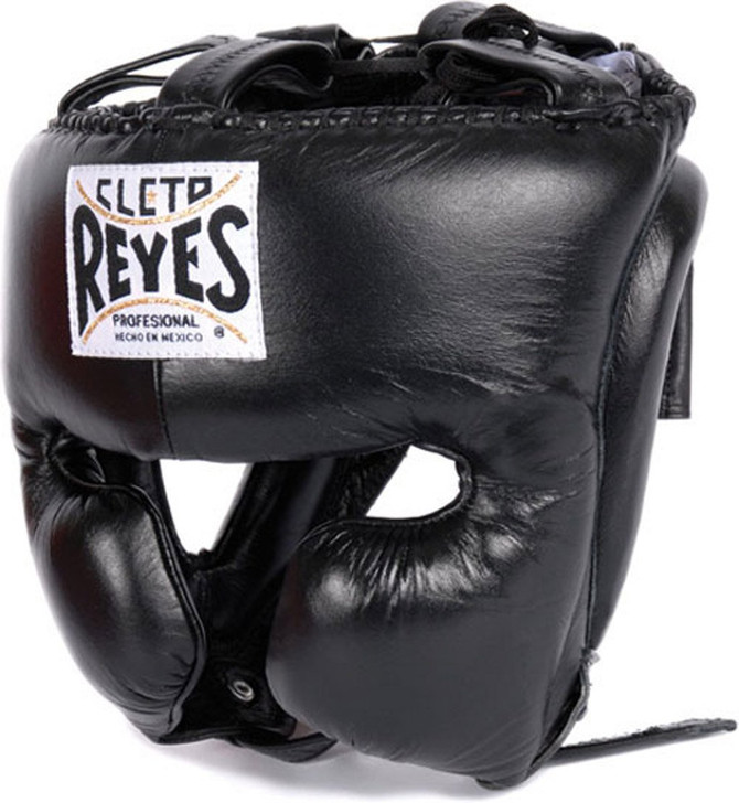 Cleto Reyes Headgear With Cheek Protection Black