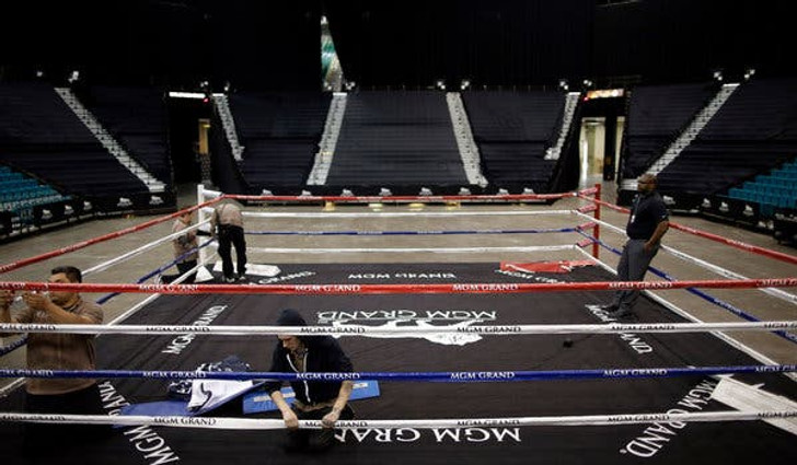 Pro Fight Night Boxing Ring Rental
