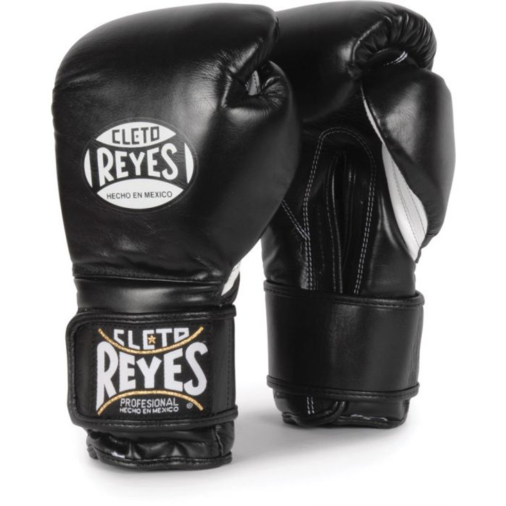 Cleto Reyes Hook & Loop Boxing Gloves Black
